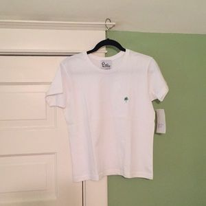 NWT {Lilly Pulitzer} Classic White Cotton T-Shirt